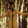 Still of Whitney Houston in The Bodyguard