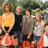 Still of Nicholas D'Agosto, Margo Harshman, Eric Christian Olsen, Hayley Marie Norman, Danneel Ackles and Sarah Roemer in Fired Up!