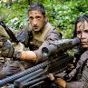 Still of Adrien Brody and Alice Braga in Predators