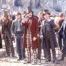 Still of Leonardo DiCaprio and Daniel Day-Lewis in Gangs of New York
