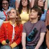 Daniel Radcliffe and Emma Watson at event of Harry Potter and the Prisoner of Azkaban