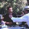 Still of John Travolta and Jonathan Hensleigh in The Punisher