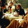 Still of Leonardo DiCaprio, Jude Law and Cate Blanchett in The Aviator