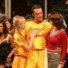 Still of Vince Vaughn and Christine Taylor in Dodgeball: A True Underdog Story
