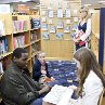 Still of Sandra Bullock, Jae Head, Quinton Aaron and Lily Collins in The Blind Side