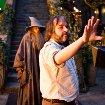 Still of Peter Jackson and Ian McKellen in The Hobbit: An Unexpected Journey