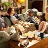 Still of Stanley Tucci, Patricia Clarkson, Emma Stone and Bryce Clyde Jenkins in Easy A