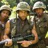 Still of Robert Downey Jr., Ben Stiller and Brandon T. Jackson in Tropic Thunder